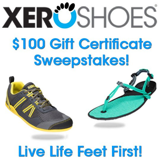 Win a $100 Gift Certificate from Xero Shoes