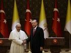 Papa e o presidente turco falam de diálogo religioso e islamofobia