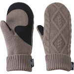 Outdoor Research Women's Lodgeside Mitts-Large Walnut Heather