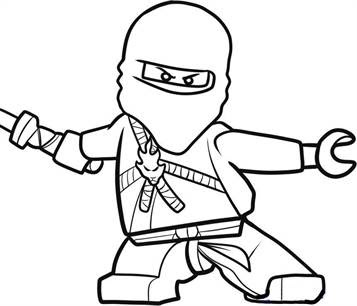 Free Ninjago Coloring Pages Jay, Download Free Clip Art, Free Clip ... | 306x357
