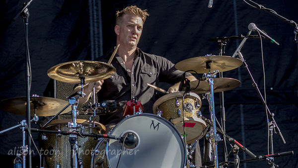 Josh Homme, drums, Eagles of Death Metal