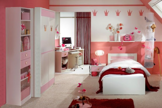 15 Cool Ideas For Pink Girls Bedrooms  Home Design, Garden  Architecture Blog Magazine