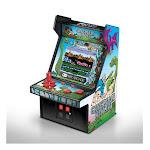 DreamGear DG-DGUNL-3218 6 in. Collectible Retro Caveman Ninja Micro Machine Cabinet Gray