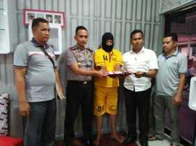 Warga Baganhulu Ditangkap Polsek Bangko Bersama BB Sabu Senilai Puluhan Juta