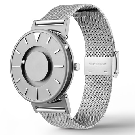 Dezeen Watch Store launches The Bradley tactile timepiece