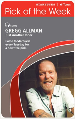 Starbucks iTunes Pick of the Week - Gregg Allman - Just Another Rider