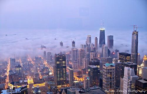 9.21.2008 Chicago , Fog , Lake Effect