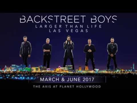 Win tickets to see the Backstreet Boys in Las Vegas!