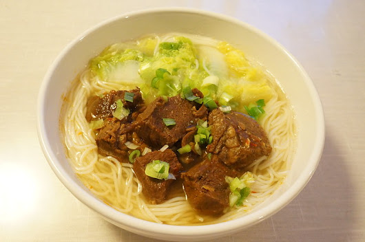 Simply Good Eating  » Taiwanese Style Braised Beef
