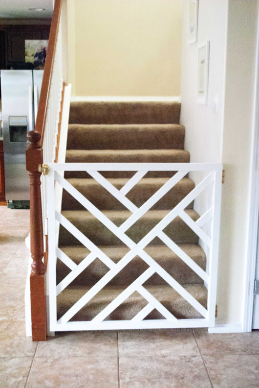 Do-it-Yourself Chippendale Pet Gate - Itsy Belle