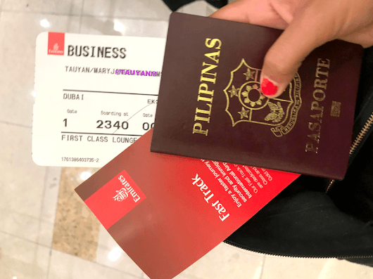 My Experience with Emirates Business Class - Fashion Travels