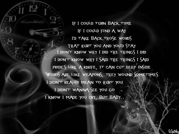 Turn Back The Hands Of Time Quotes