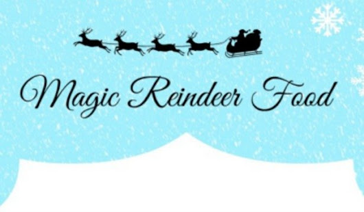 Magic Reindeer Food Free Printable | Simply Real Moms