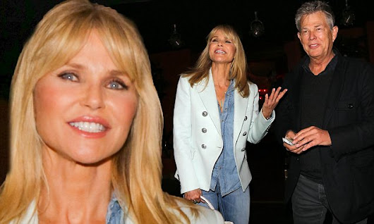 Christie Brinkley's dinner date with Yolanda Hadid's ex David Foster