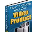 How to create your own video product PDF e B book.  Unrestricted Private Label Rights