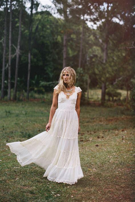 Bohemian Wedding Dress   DressedUpGirl.com