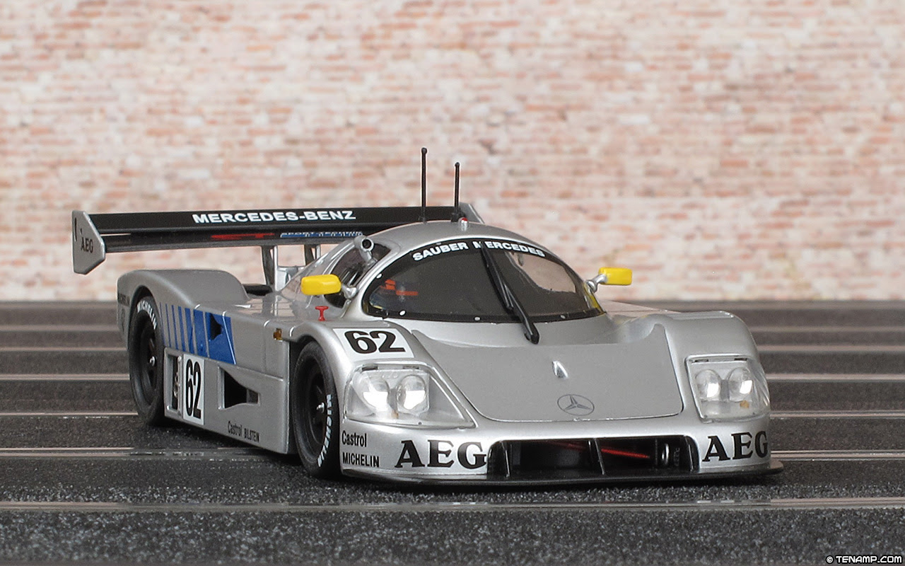 Slot It Sauber Mercedes C9 Le Mans 1/32 slot car.C $; Buy It Now; Calculate Shipping ; From United States; Customs services and international tracking provided.Slot It SICA06G Sauber Mercedes C9 1st Supercup Diepholz , #14 1/32 Slot Car.C $;.