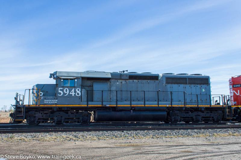 Ex GTW 5948 in Winnipeg