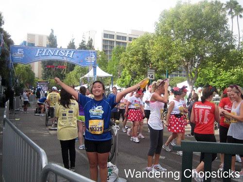 Lil' Sis Ran the Disneyland Half Marathon 2