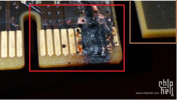 GTX 780 Ti quemada