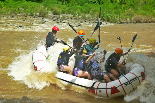 White Water Rafting at Cagayan de Oro with Great White Rafting | Mea in Bacolod