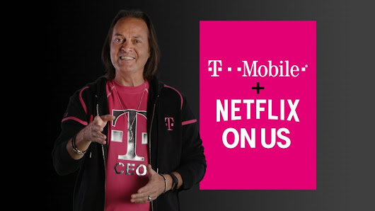 Netflix is now free for all T-Mobile One customers