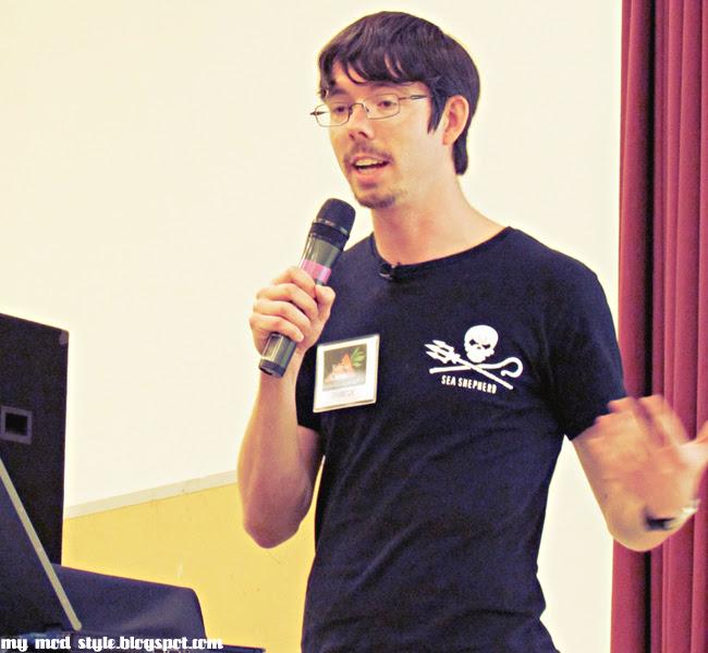 VegFest Peter Speaking