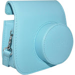 Fujifilm Instax Groovy Synthetic Leather Camera Case for Instax Mini 9 - Blue