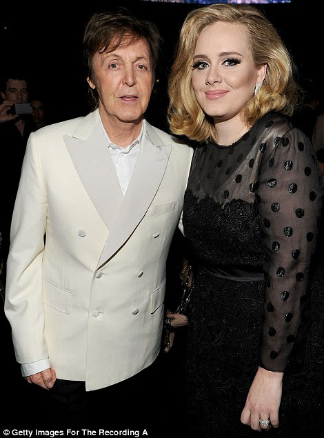 Best of British: Paul McCartney e Adele deu duas das melhores performances da noite
