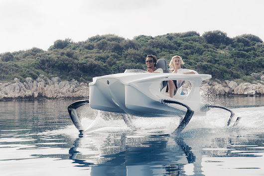 Quadrofoil is the Flying Electric Speedboat of Tomorrow • TheCoolist - The Modern Design Lifestyle Magazine