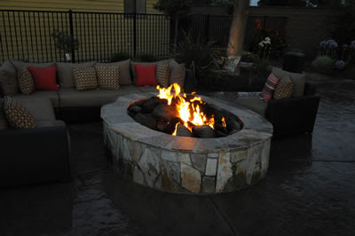 Patios, BBQ Island, Firepit Backyard Options Backyard Pools - Paradise Pools™ - California Pool Designer, Visalia Pool Builders, serving the Central San Joaquin Valley.