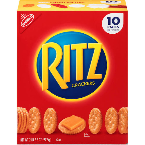 Nabisco Ritz Crackers - 10 packets, 34.3 oz box