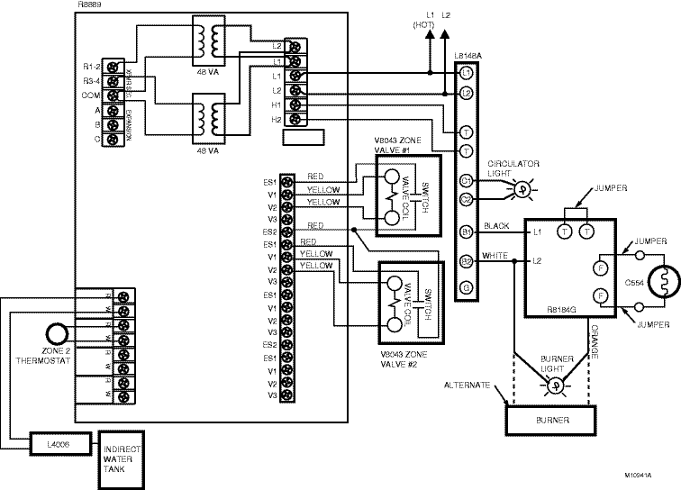 Honeywell Wiring Diagram S Plan