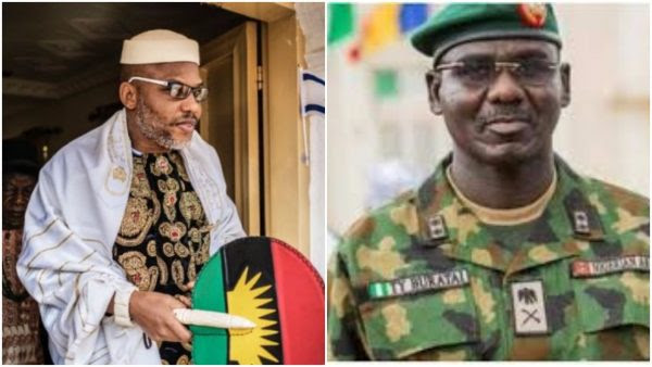 Biafra: Court refuses to order Buratai to produce Nnamdi Kanu