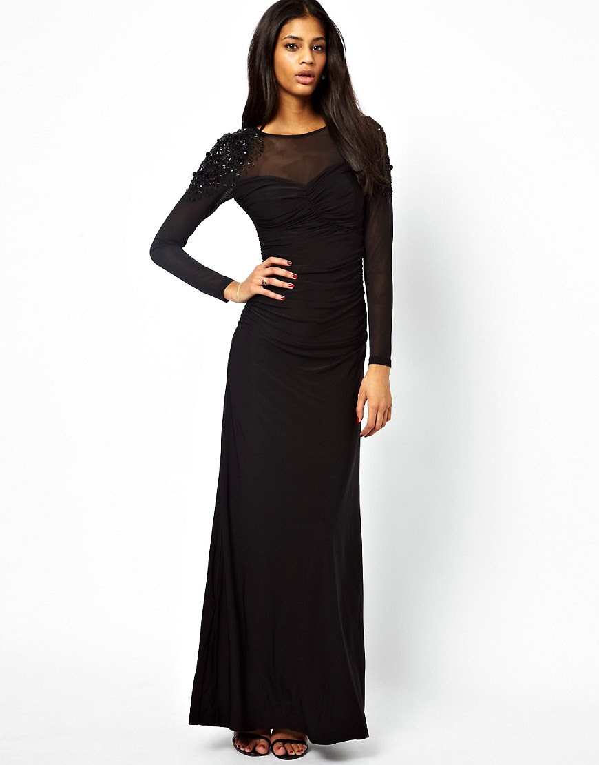 Lipsy maxi dress asos quiz good and