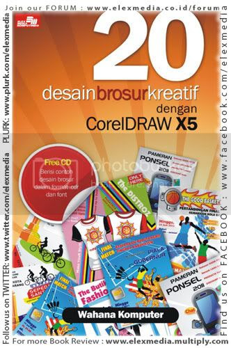 20 DESAIN BROSUR KREATIF DENGAN CORELDRAW X5