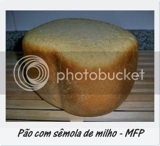 Pão com sêmola de milho 1