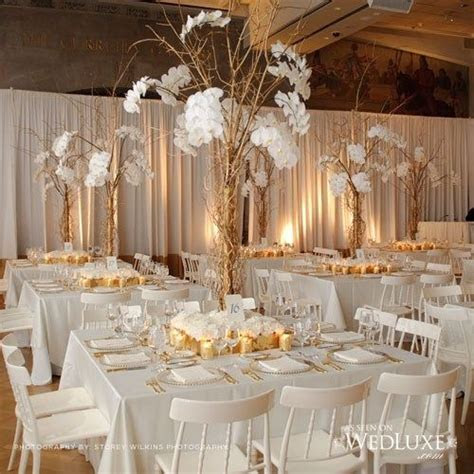 25  best ideas about White gold weddings on Pinterest