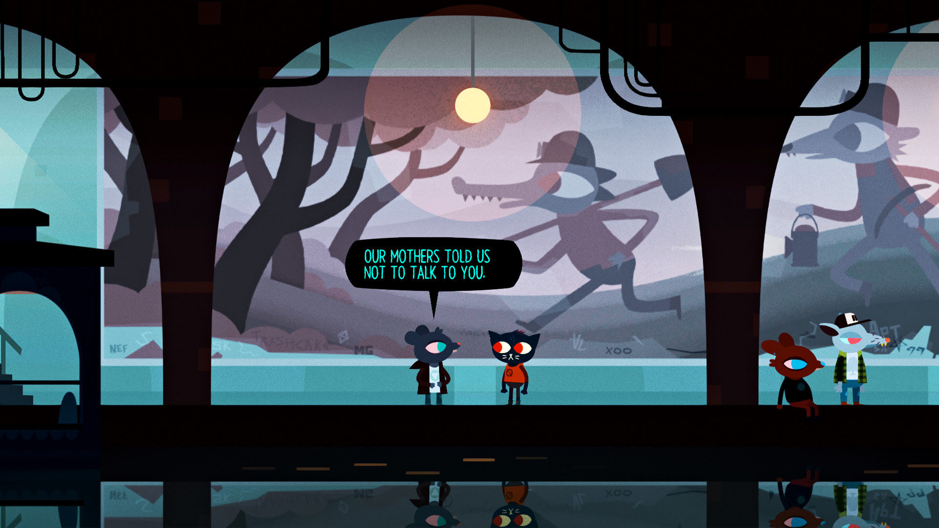 Night In The Woods Explores The Unsolvable Mysteries Of Life