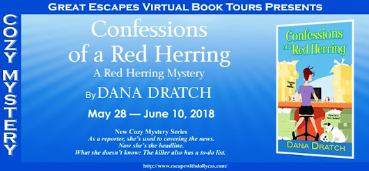 Confessions of a Red Herring by Dana Dratch – a #BlogTour #BookReview and #Giveaway