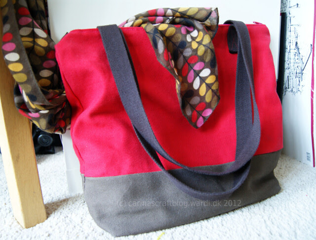 Made myself a new bag. :-)