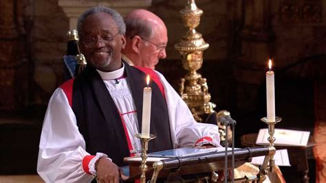 Watch Bishop Michael Curry's royal wedding sermon: 'This