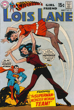 Cover for Superman's Girlfriend, Lois Lane #93 (1969)