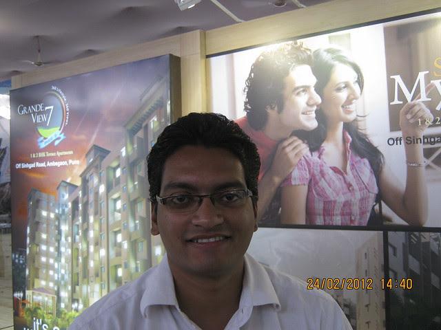 Nikhil Naik (98500 39300) of Sai Mystique Anbegaon Budruk - Visit Sakal Gudi Padwa Gruhotsav 2012, New Agriculture College Ground, Range-Hills, Sinchan-Nagar Pune 411 020