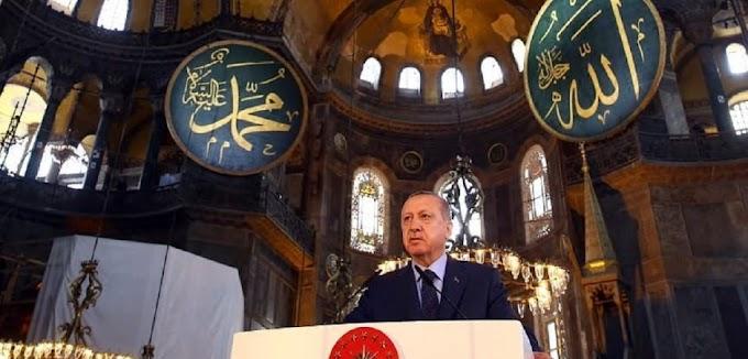 Το βδέλυγμα της ερήμωσης , η ΑΓΙΑ ΣΟΦΙΑ και το τέλος της Τουρκίας.