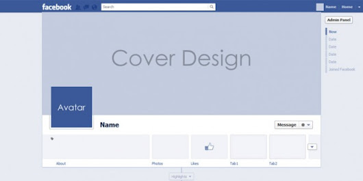 All new PSD for facebook timeline cover mock up 2013