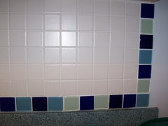 Day 64: Tile has been grouted