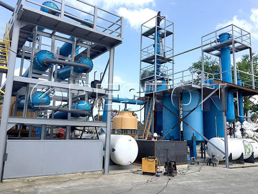 Waste Plastic Pyrolysis Plant for Sale Manufacturer - Beston Group