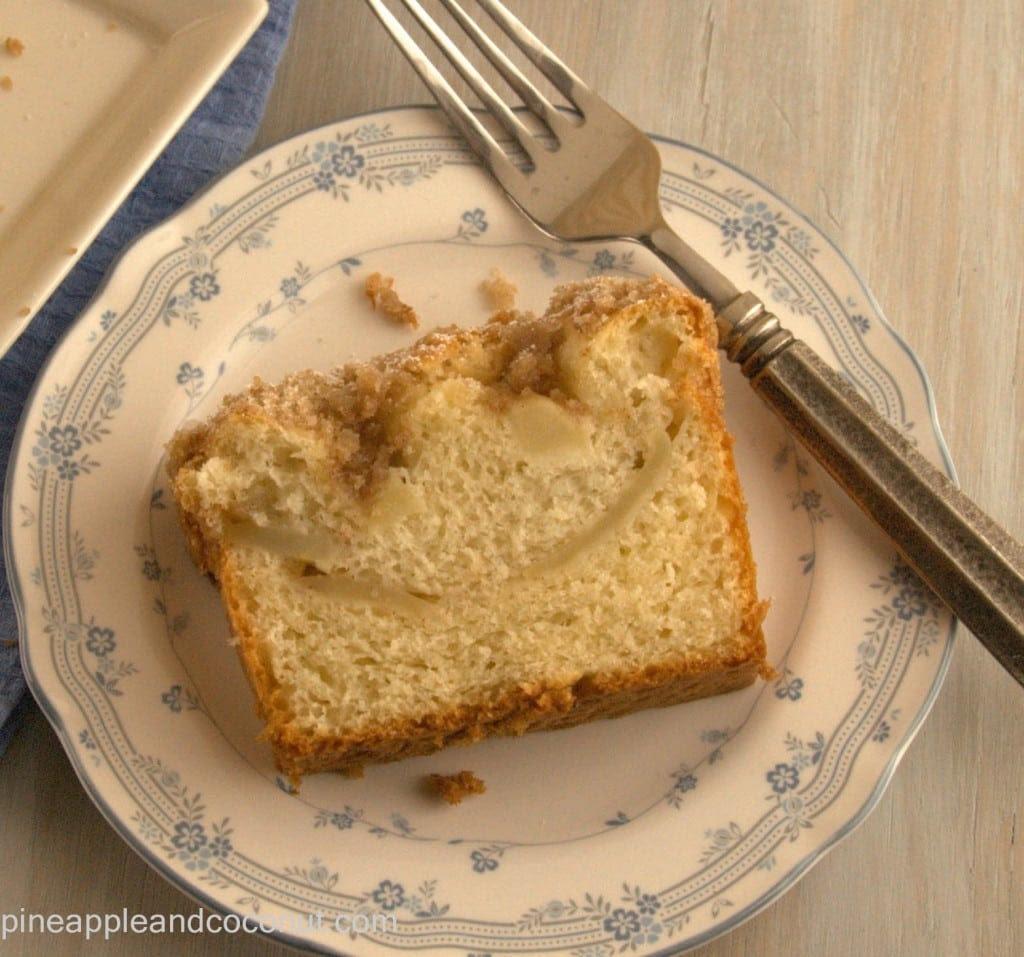 Apple Kuchen 6 1024x957 Apfelkuchen ( Bavarian Apple Cake) for #TwelveLoaves