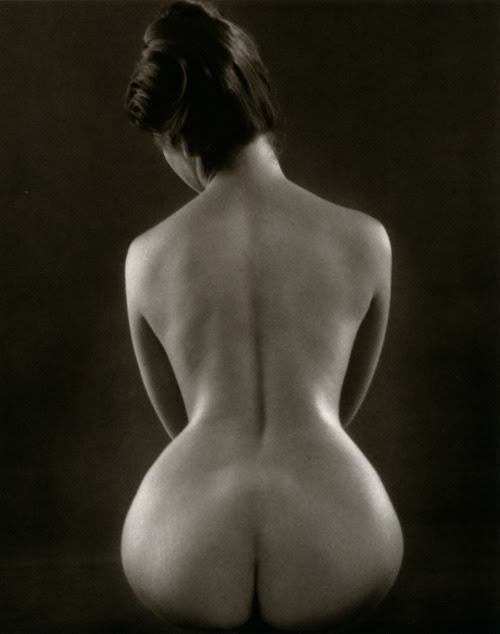 Ruth Bernhard - Hourglass, 1971 From Ruth Bernhard: The Eternal Body